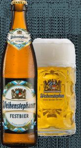 Um exemplo de cerveja no estilo Oktoberfest